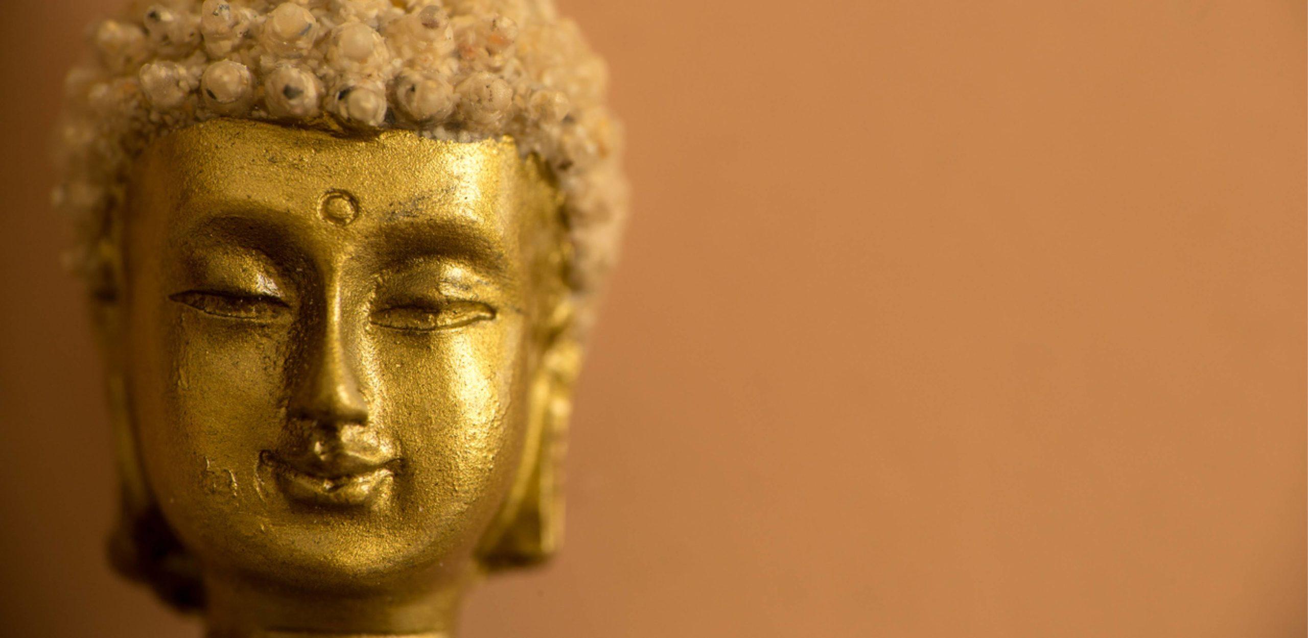 Tibetische Massage - ein Goldener Kopf